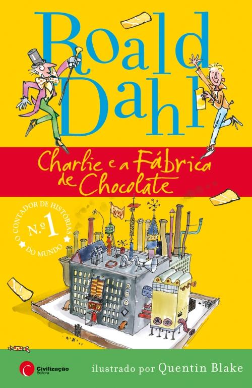 capa charlie e a fabrica de chocolate