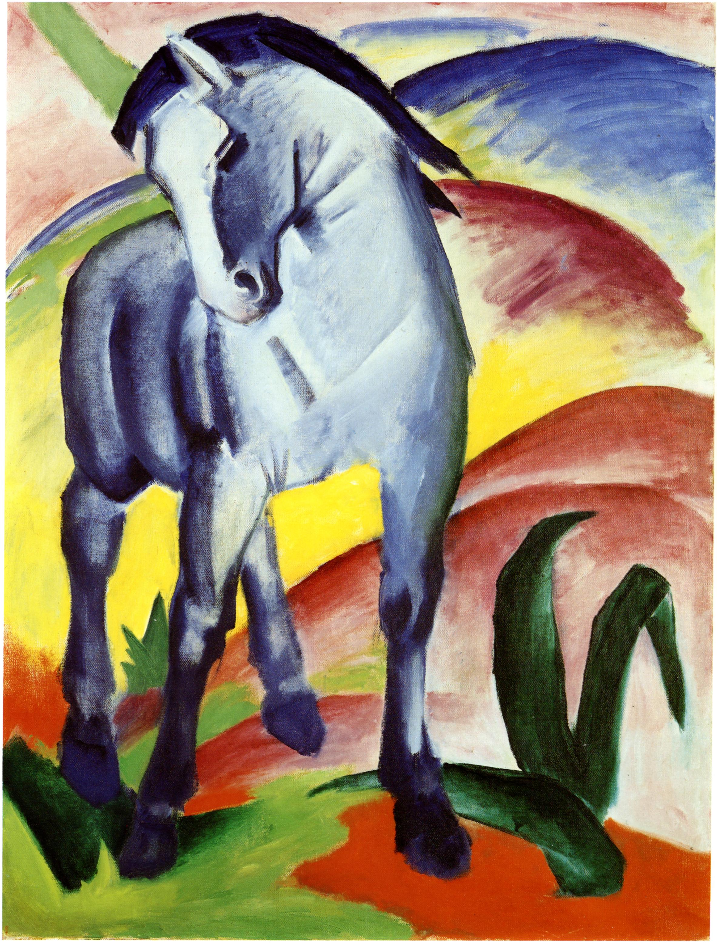 o artista que pintou um cavalo azul de eric carle cria cria. Black Bedroom Furniture Sets. Home Design Ideas