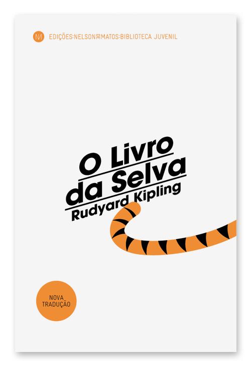 capa rudyard kipling o livro da selva