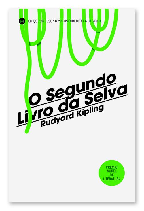 capa rudyard kipling o segundo livro da selva