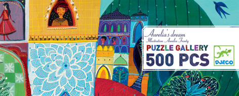 djeco puzzle gallery aurelia s dream