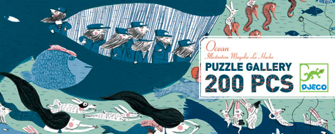 djeco puzzle gallery ocean