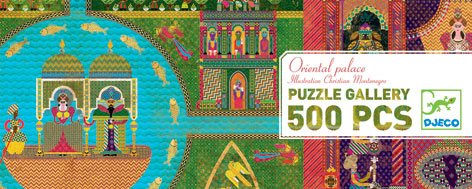 djeco puzzle gallery oriental palace