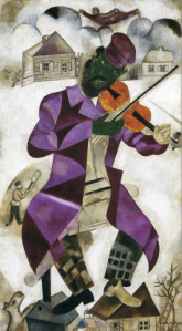 marc chagall the green violinist