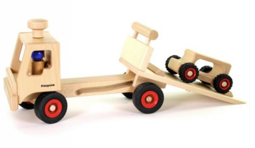 fagus carro e reboque de madeira