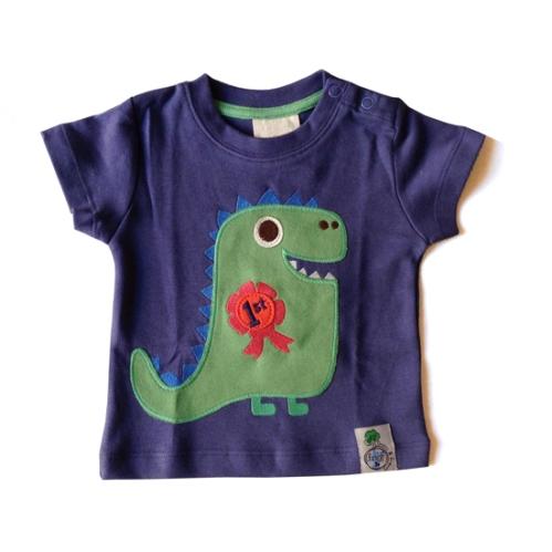 frugi t shirt com dinossauro