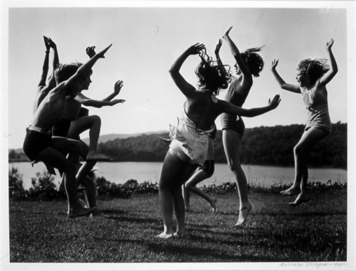 barbara morgan children dancing by the lake  1940