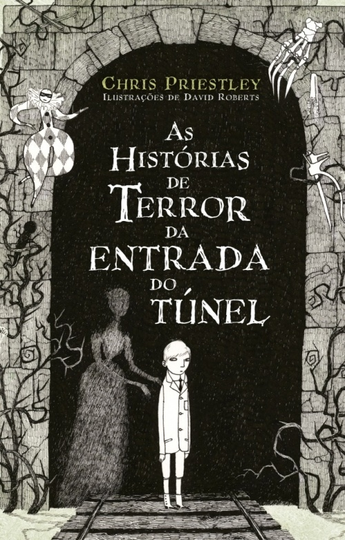 capa as historias de terror da entrada do tunel