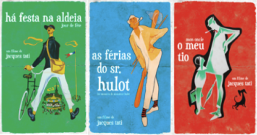 capas jacques tati ha festa na aldeia as ferias do sr hulot o meu tio