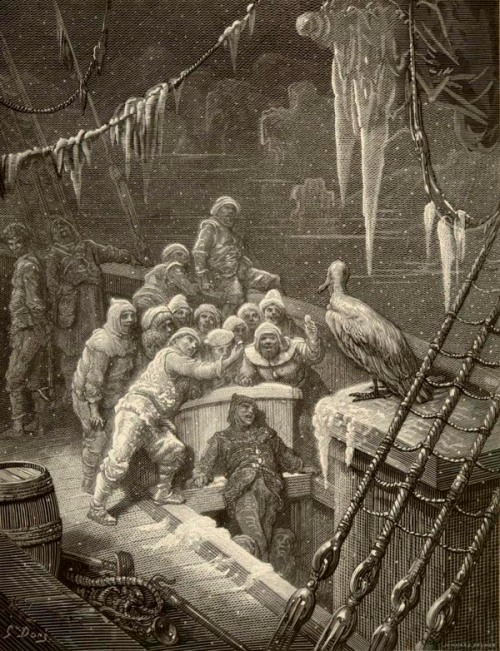 gustave dore rime of the ancient mariner the albatross