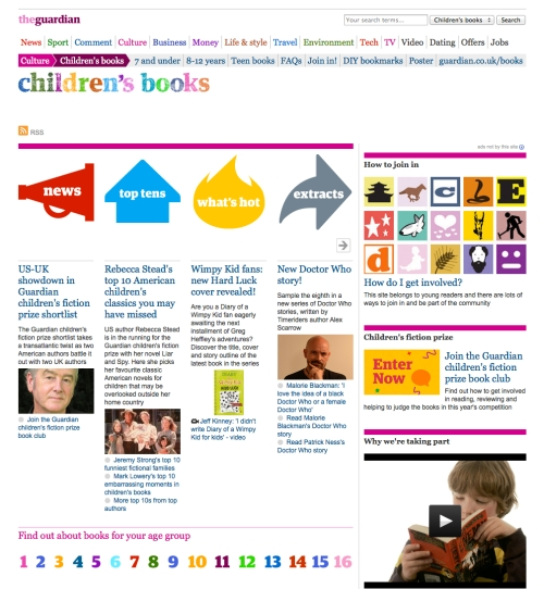 the guardian children s books