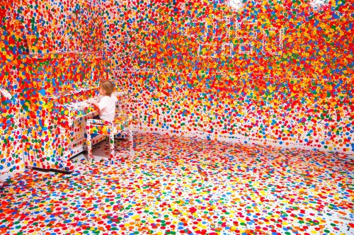 yayoi kusama the obliteration room 2011