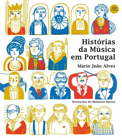 capa historias da musica em portugal