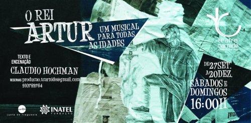 cartaz claudio hochman o rei artur